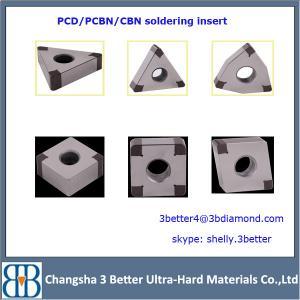 China china factory lathe cutting insert,pcd inserts,cbn pcd diamond insert wholesale