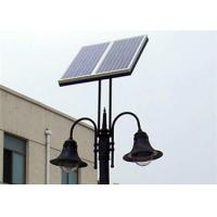 China All In One Outdoor Solar Post Lights , Dustproof Solar Powered Lamp Post Lights wholesale