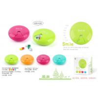 China PILL BOX - ROUND SHAPE - 4 ASSORTED COLORS wholesale