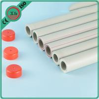 China Grey Color Plastic PPR Pipe Good Chemical Resistance For Commercial Buildings wholesale
