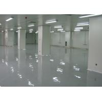 China Professional Laboratory PVC Flooring Finishing Materials With Hard Wearing Surface wholesale