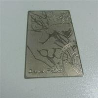 China Elegant Metal Card for Valued Customers Loyalty System wholesale
