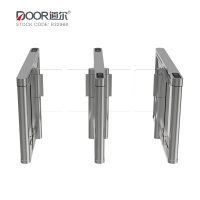 China GYM Fitness Center VIP Member Access Control System Rfid QR Code Face Recognition Speed Gate Turnstile wholesale