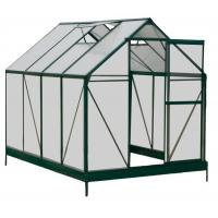 China Sturdy Aluminum Framing 4mm UV Twin-wall Polycarbonate Sheets Greenhouses 6