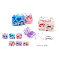 China MINI CONTACT LENS CASE - 3 DIFFERENT PRINTING DESIGN wholesale