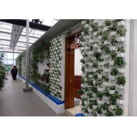 China Good Light Transmission Sustainable Greenhouse PVC Pipe Hydroponic Frame Material wholesale