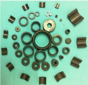 China Customized Various Shape Isotropic Sintered Ceramic Ferrite Magnet wholesale