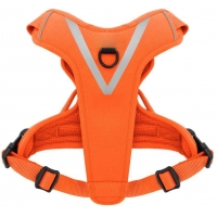 China Outdoor Air Mesh Dual Attachment Nylon Dog Harness wholesale