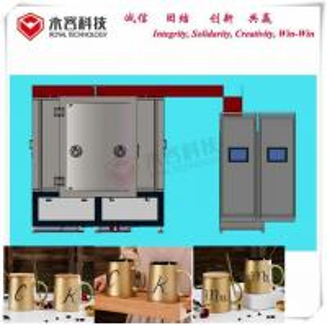 Buy cheap PVD Ion Plating Machine on Ceramic Products, PVD Plating Machine on Glass Shisha from wholesalers