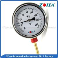 China High Accuracy Bimetal Dial Thermometer With Stainless Steel Connector wholesale