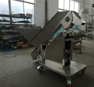 China Potato / Garlic / Vegetable Weighing Scale , Crayfish Weighing And Filling Machine on sale