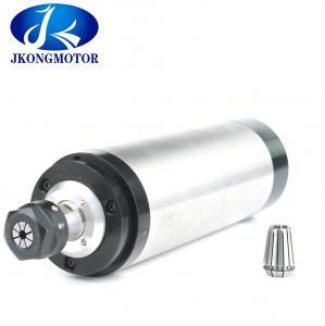 China Water Cooled CNC Spindle Motor 380V 12A 5.5KW Diameter 125 ER25 / ER32 on sale