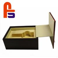 China Large Size Recyclable Materials For Packing Wine Foam Lined Cardboard Boxes wholesale