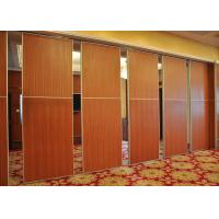 China Red Fireproof Partition Wall Acoustic Diffuser Panels For Exhibition Halls wholesale