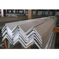 China Shiny And Clean Stainless Steel Angle Bar 409 , 410 , 430 For Construction wholesale