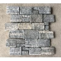 China Cloudy Grey Granite Z Stone Cladding back with Steel Wire,Natural Z Stone Panel,Culture Stone Wall wholesale