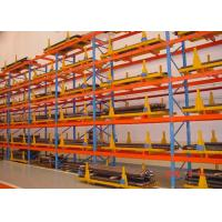 China Heavy Duty Sheet Metal Pallet Warehouse Racking 1000 - 10000mm Length wholesale