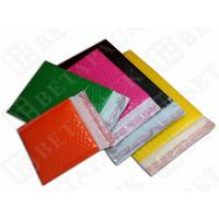 China Colored Fully Laminated Plastic Poly Bubble Envelope Bags Yellow / Green wholesale