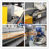 China Low Noise Plate And Frame Filter Press Dewatering Machine For Aluminum Oxide wholesale