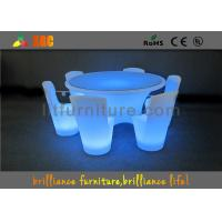 LED banquet table /  illuminated chair with Wireless Remote Control Manufactures