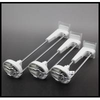 China COMER EAS security retail display Metal chrome slatwall display hooks in Supermarket wholesale