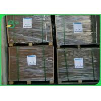 China FSC Approved Coated Duplex Board 100% Waste Paper Pulp Weight 350g Couche White Back Gray Paper wholesale