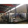 China Corrugated Carton Packing Lead Edge Feeder Flexo Printer Slotter Die Cutter Machine wholesale