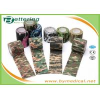 China Army Camping Hunting Camouflage Pattern Printing Non Woven Self Adhesive Elastic Bandage wholesale