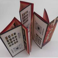 China Small Folded Leaflet Printing For Electronics, Promotional C2s Paper 7 Folds User Manual wholesale