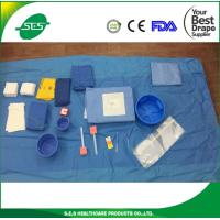Quality Femoral Radial Angiography Drape Pack With Adhesive Incision for sale