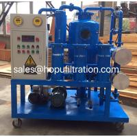 China Double Stage Vacuum Transformer Oil Purifier, Oil Degassing System, Insulation Oil  Dehydrator,stainless steel heater wholesale