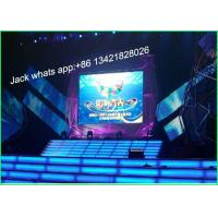 China HD P6 Full Color Indoor Stage LED Screen Video Walls 192 * 192mm SMD3528 wholesale