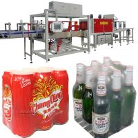 Buy cheap Print Film Transparent Film Shrink Wrapping Machine for Canned Beer Bottled Beer from wholesalers
