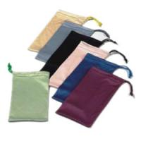 China microfiber sunglasses pouch with strings wholesale