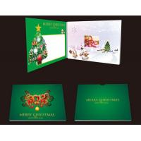 China Rechargeable Lcd Video Brochure Invitation Video Card For Advertising wholesale