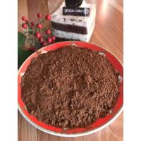 China Reddish Brown Alkalized Cocoa Powder , Unsweetened Dutch Process Cocoa Powder wholesale