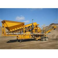 China Three Spindle Mobile impact crusher wholesale