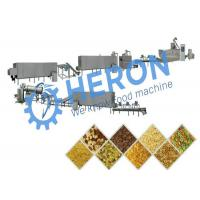 High Efficiency Corn Chip Production Line , Corn Chip Processing Equipment Low Noise Manufactures