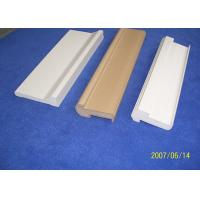 China White Water Proof PVC Decorative Mouldings 7ft Backband Astragal For Door wholesale