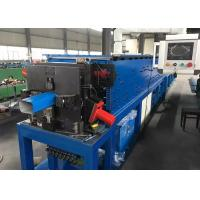 China Square Rainwater Downspout Roll Forming Machine Integrated With Elbow Device wholesale