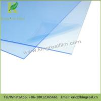 China 0.03mm-0.20mm Thickness Blue Adhesion Surface Protective Acrylic Sheet Protection Film wholesale