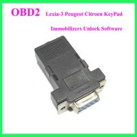 China Lexia-3 Peugeot Citroen KeyPad Immobilizers Unlock Software wholesale