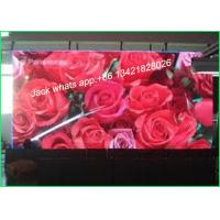 China HD Thin Flat Led Video Screen Rental for Stadium With Aluminum Cabinet wholesale