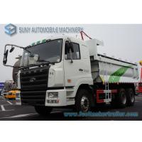 China CAMC Heavy Dump Truck  6x4 Chassis U Type Tipper Box Load Capacity 30 Ton wholesale