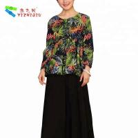 China YIZHIQIU stretch cotton fabric blouse ropa mujer casual ropa mujer wholesale