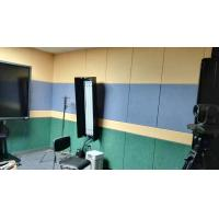 China 40% Low Melt Fiber Polyester Acoustic Wall Panels Fireproof Acoustic Sound Panels wholesale
