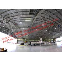 China Large-span Waterproof Insulated Prefabricated Steel Structure Aircraft Hangar for Private Usage wholesale