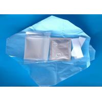 China Disposable Transparent PE Sterile Plastic Cover Medical Protective Equipment wholesale