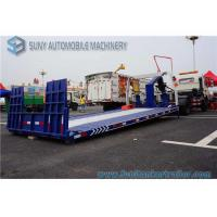 China FAW  115 Hp Engine Wrecker Tow Truck , Flatbed Wrecker Full Landing 5000 KG wholesale