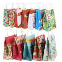 China Eco Friendly Custom Printed Paper Bags For Christmas Gift Packaging wholesale